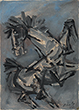 M F Husain - Evening Sale of Modern and Contemporary Indian Art