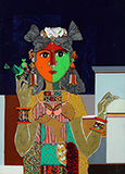Untitled - K Laxma  Goud - Evening Sale of Modern and Contemporary Indian Art