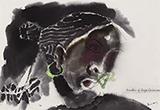 Sindhu of Gaja Gaamini - M F Husain - Evening Sale of Modern and Contemporary Indian Art