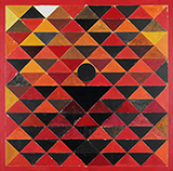 Triangles - S H Raza - Evening Sale of Modern and Contemporary Indian Art
