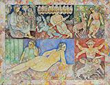 The Faraway Song - Sakti  Burman - Evening Sale of Modern and Contemporary Indian Art