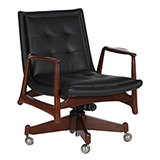 DESK CHAIR BY CHIPPENDALE, BOMBAY <br> Mumbai -    - An Aesthete's Vision
