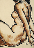 Untitled (Seated Nude) - K H Ara - Evening Sale | New Delhi, Live