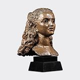 Portrait of the Maharanee of Baroda - Sir Jacob  Epstein - Evening Sale | New Delhi, Live