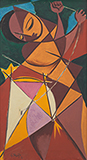 Untitled - George  Keyt - The Ties That Bind: South Asian Modern and Contemporary Art