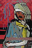 Blisters in the Red Sky - Jitish  Kallat - The Ties That Bind: South Asian Modern and Contemporary Art