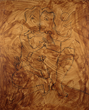 Untitled (Ganesha) - M F Husain - The Ties That Bind: South Asian Modern and Contemporary Art