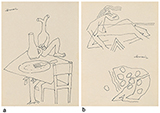 - M F Husain - The Ties That Bind: South Asian Modern and Contemporary Art