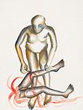 Cruelty to Woman - Bhupen  Khakhar - Summer Online Auction
