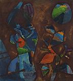 Untitled - M F Husain - Summer Online Auction