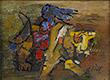 M F Husain - Summer Online Auction