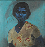 Untitled (Sinhalese Lady) - N S Bendre - Summer Online Auction