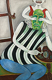Hasya Rasa or The Comic Sentiments - Paritosh  Sen - Summer Online Auction