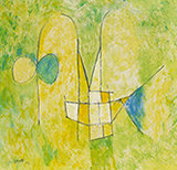 Untitled - V S Gaitonde - Summer Online Auction