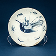 BLUE AND WHITE PORCELAIN PLATE - Asian Art