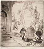 Sacred Stairs - Abdur Rahman Chughtai - From Classical to Contemporary