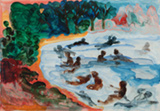Bathers - Bhupen  Khakhar - From Classical to Contemporary