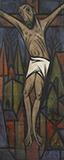 Untitled (Crucifixion) - A A Raiba - Evening Sale | Mumbai, Live