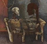 The Masks - Ganesh  Pyne - Evening Sale | Mumbai, Live