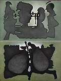 'Monday to Tuesday'. Painting No. 10 - Anant  Joshi - Kochi-Muziris Biennale Fundraiser Auction | Mumbai, Live