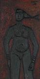 Standing Nude - F N Souza - Evening Sale | New Delhi, Live