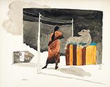 Montu - M F Husain - Summer Online Auction