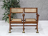 TWO SEATER CINEMA BENCH -    - The Design Sale