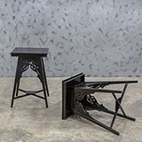 CUT-OUT SIDE TABLES -    - The Design Sale