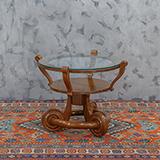 ART DECO CIRCULAR COFFEE TABLE -    - The Design Sale
