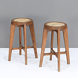STOOL WITH CANE SEAT -    - The Design Sale