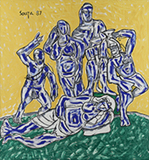 Etruscan Group - F N Souza - Summer Online Auction