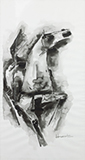 Untitled (Horse) - M F Husain - Summer Online Auction