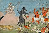 FOLIO FROM A DEVI MAHATMAYA SERIES -    - Classical Indian Art
