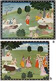 FOLIOS FROM BHAGVATA PURANA -    - Classical Indian Art