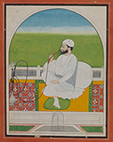 PORTRAIT OF A SIKH NOBLE -    - Classical Indian Art