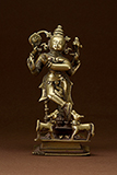 KRISHNA PLAYING THE FLUTE -    - Classical Indian Art