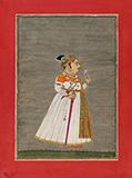 RANA RAJA SINGH OF UDAIPUR -    - Classical Indian Art