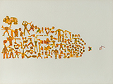 Untitled - Anant  Joshi - Contemporary Indian Art: A Selection from the Amaya Collection