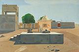 Saurabh Society - 12 Noon - Atul  Dodiya - Contemporary Indian Art: A Selection from the Amaya Collection