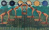 Hierachical Arselickers - Nataraj  Sharma - Contemporary Indian Art: A Selection from the Amaya Collection