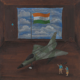 Mama My Kite is Still Flying (Charming Nation) - N S Harsha - Contemporary Indian Art: A Selection from the Amaya Collection
