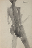 Untitled - Akbar  Padamsee - Modern Indian Art