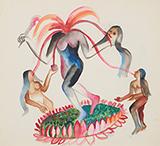 Untitled - Bhupen  Khakhar - Modern Indian Art