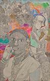 Untitled - K Laxma  Goud - Modern Indian Art