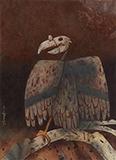 Vulture - Ganesh  Pyne - Modern Indian Art