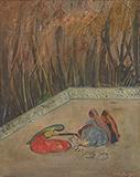 Untitled - Sailoz  Mookherjea - Modern Indian Art