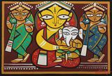 Untitled - Jamini  Roy - Evening Sale | Mumbai, Live