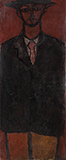 Untitled (Man in Hat) - Jamini  Roy - Evening Sale | New Delhi, Live