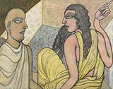 Couple - Jogen  Chowdhury - Evening Sale | New Delhi, Live