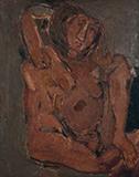 Untitled (Figure of a Woman) - Tyeb  Mehta - Evening Sale | New Delhi, Live